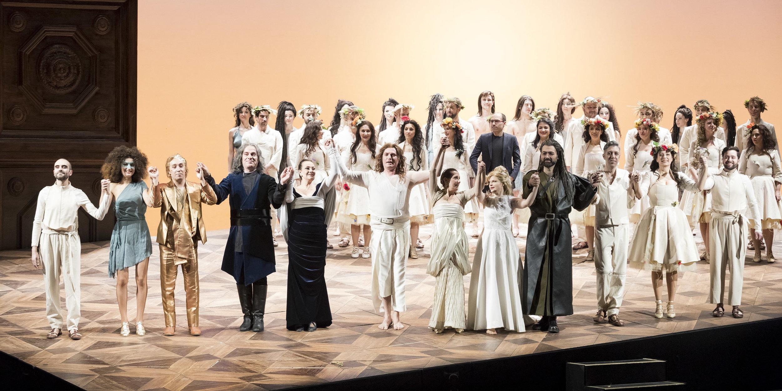 L'Orfeo at Teatro Regio di Torino  Photo: Ramella&Giannese © Teatro Regio Torino