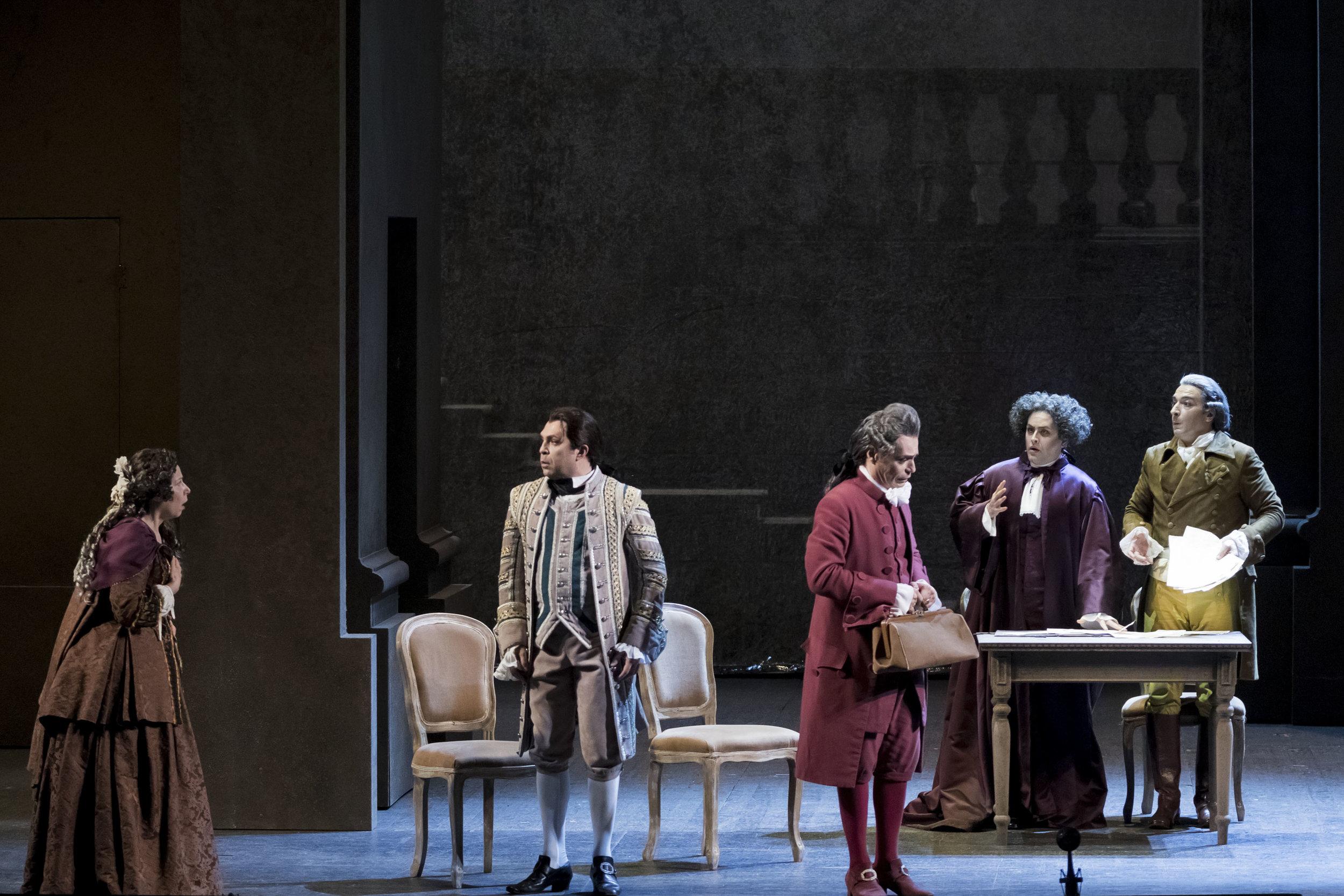 Don Curzio in  Le nozze di Figaro  with Teatro Regio Torino