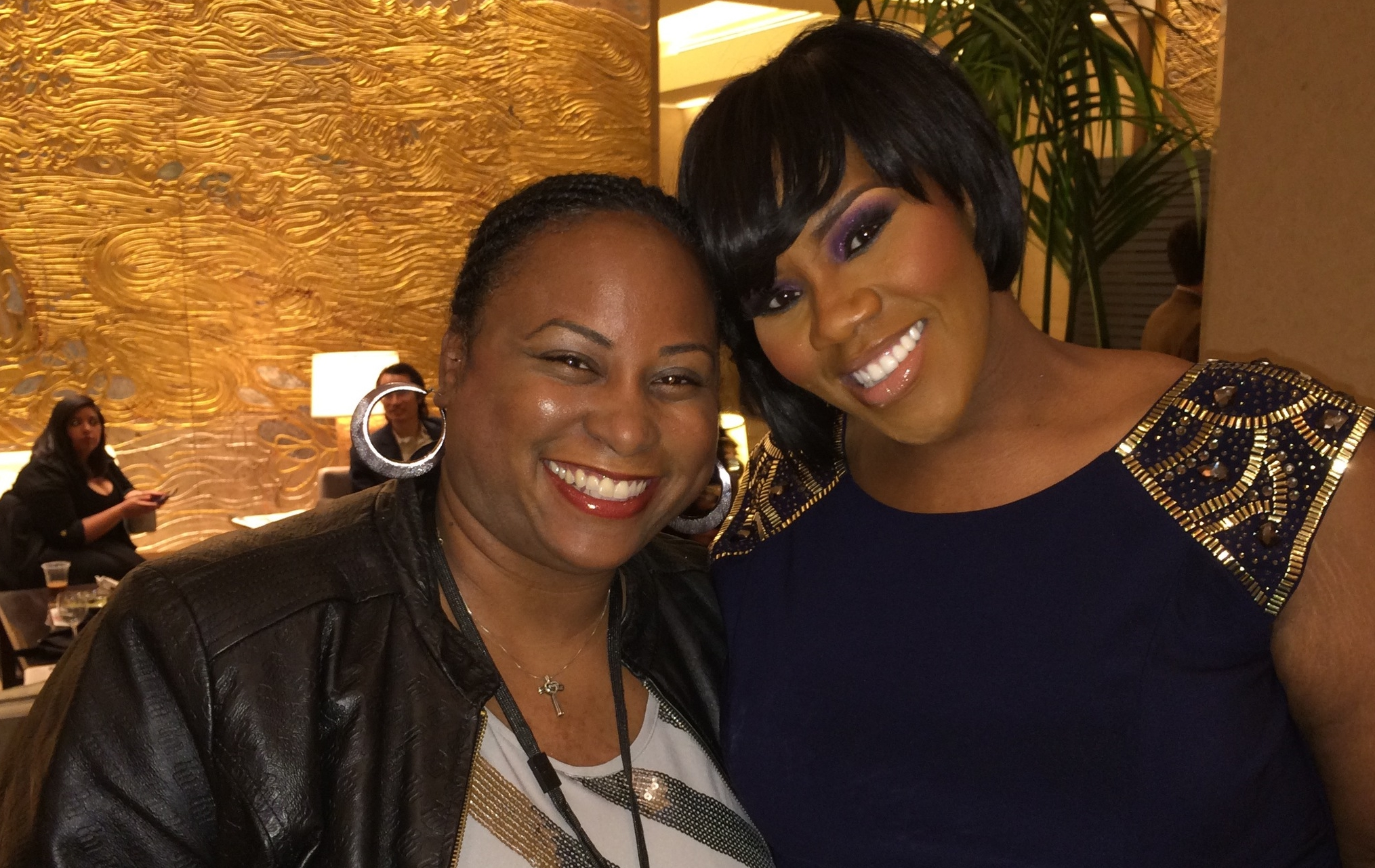 Quencie and Kelly Price