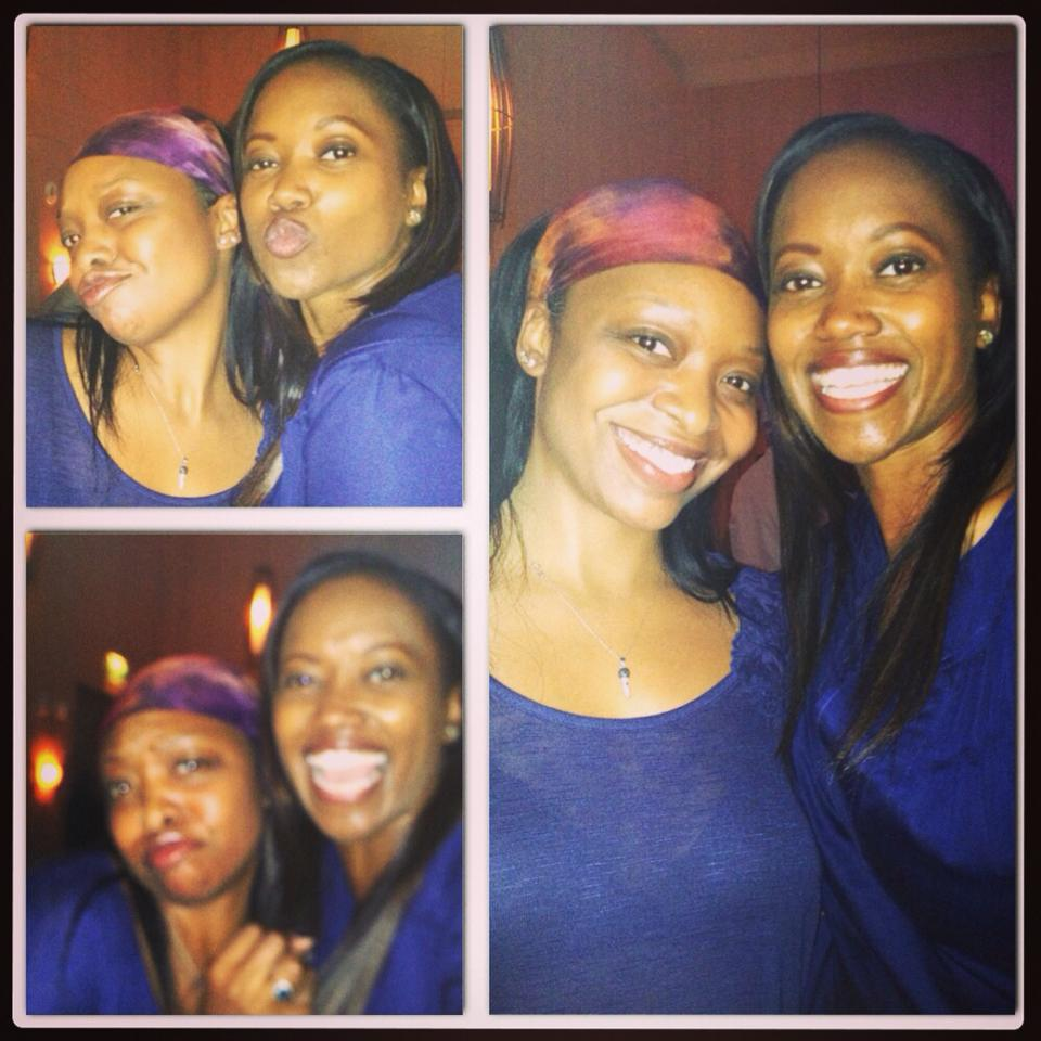 My Producer Tam and Erika Alexander