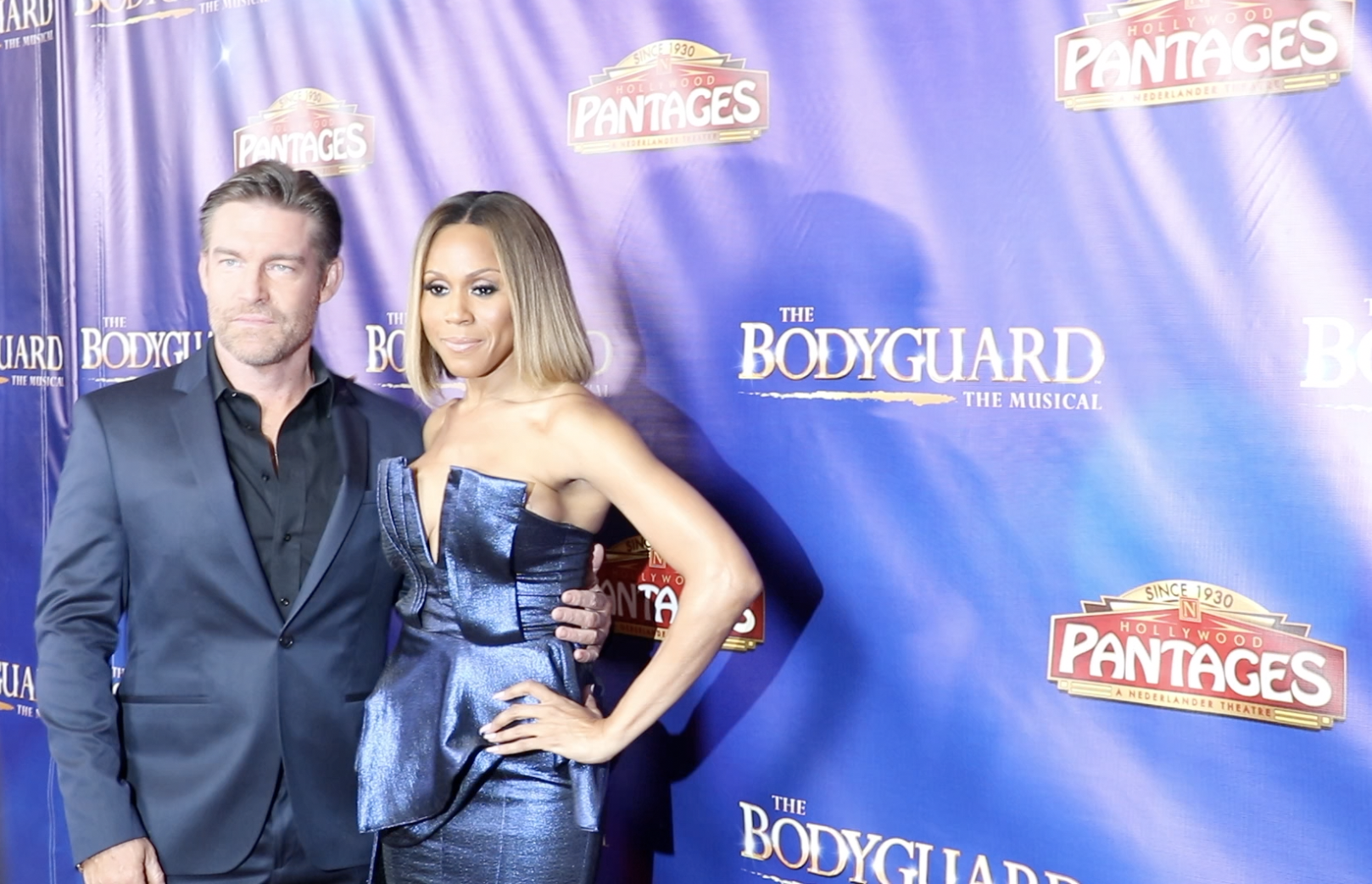 Judson Mills and Deborah cox