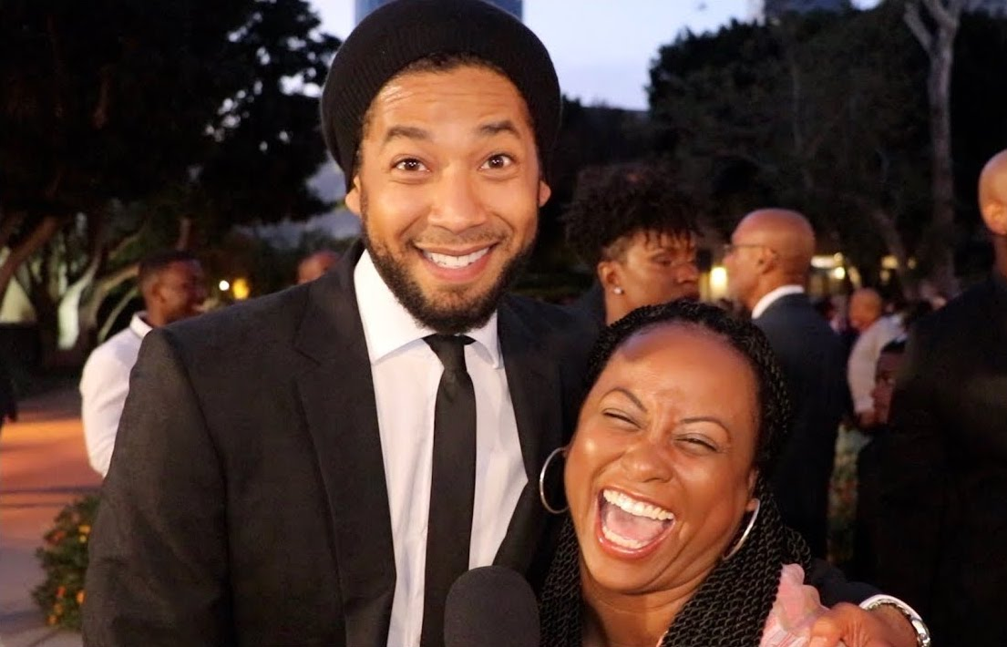 Jussie Smollett and Quencie