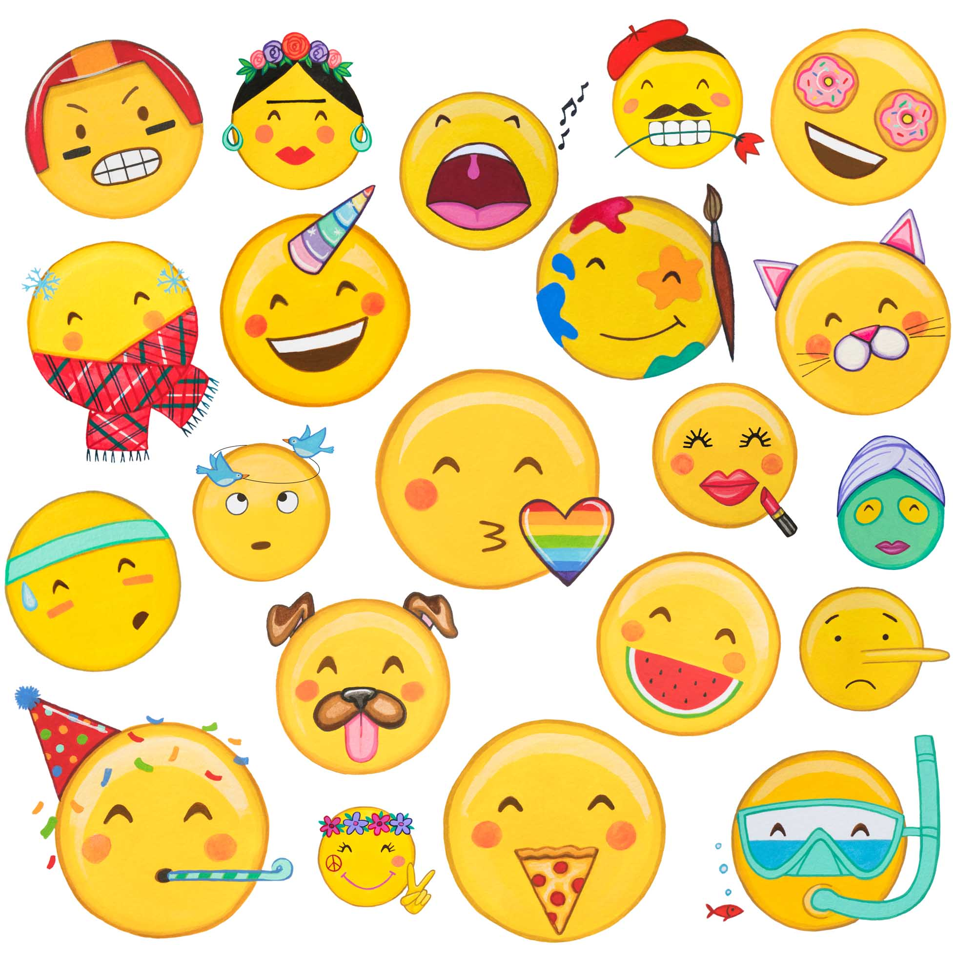 Faces Pack
