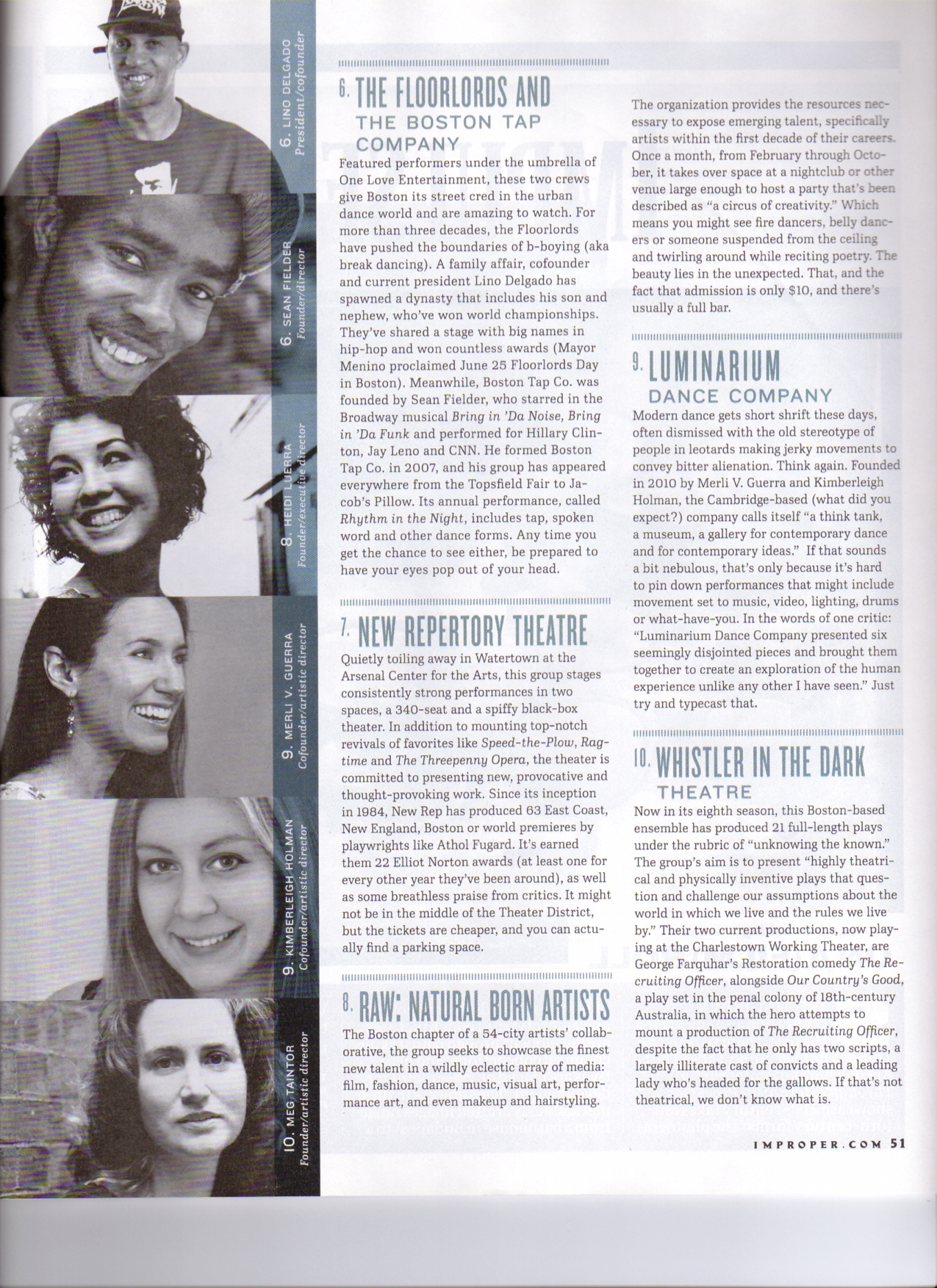 Improper Bostonian Feature, March 2013