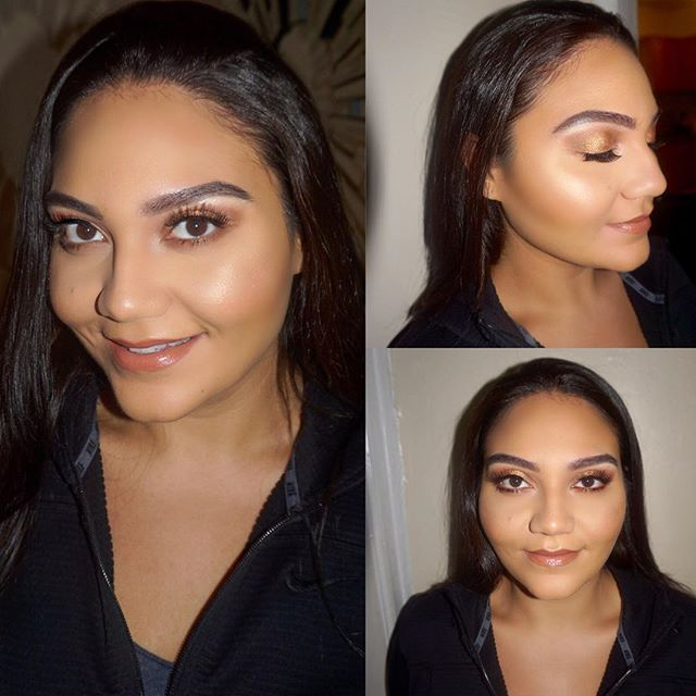 Glammed up this beauty @brittneyinfocus for her engagement shoot 💍 - PRODUCTS USED:🎨 Brows: @anastasiabeverlyhills Brow Wiz Eyes: @morpebrushes Jaclyn Hill palette Face: @makeupforeverofficial ultra HD foundation, @bennyemakeup banana powder, @lagirlcosmetics pro face powder bronzer  Highlight✨: @anastasiabeverlyhills glow palette, @artistcouture highlight Lips: @nyxcosmetics soft matte liquid lip 'london' Lashes: @ardellbeauty