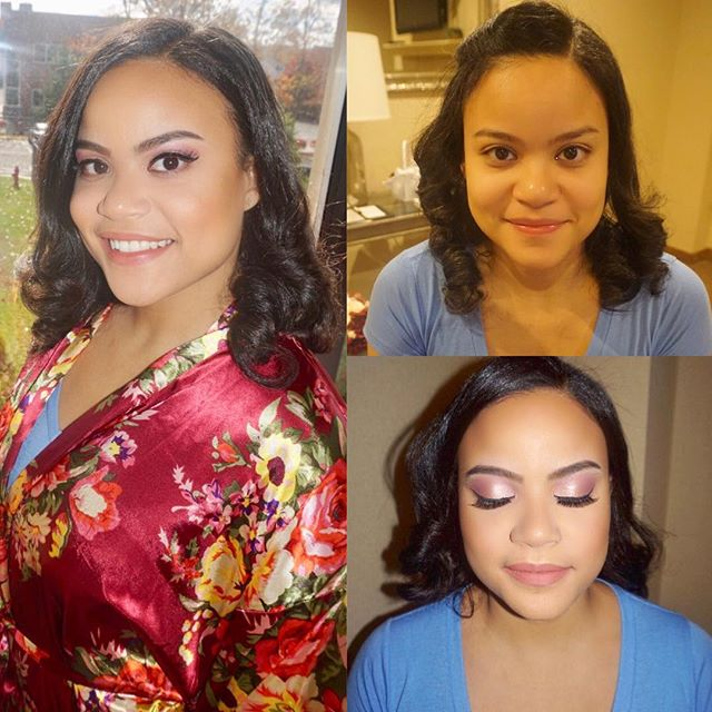 Bridesmaid glam 🎨💕 #lostfiles