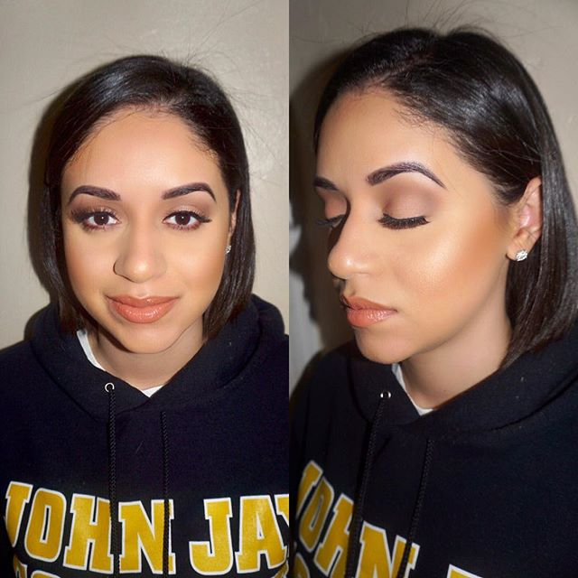 Natural beauty 💕 @lyd._xo - - PRODUCTS USED:🎨 Brows: @anastasiabeverlyhills Brow Wiz Eyes: Sonia Kashuk @beingsonia Matte Eyeshadow palette, @morphebrushes @jaclynhill eyeshadow palette& @thebalm_cosmetics schwing liquid liner Face: @makeupforeverofficial ultra HD foundation, @bennyemakeup banana powder, @lagirlcosmetics pro face powder bronzer  Highlight✨: @anastasiabeverlyhills glow palette Lips: @nyxcosmetics soft matte lip cream 'london' & @fentybeauty gloss bomb Lashes: @ardellbeauty