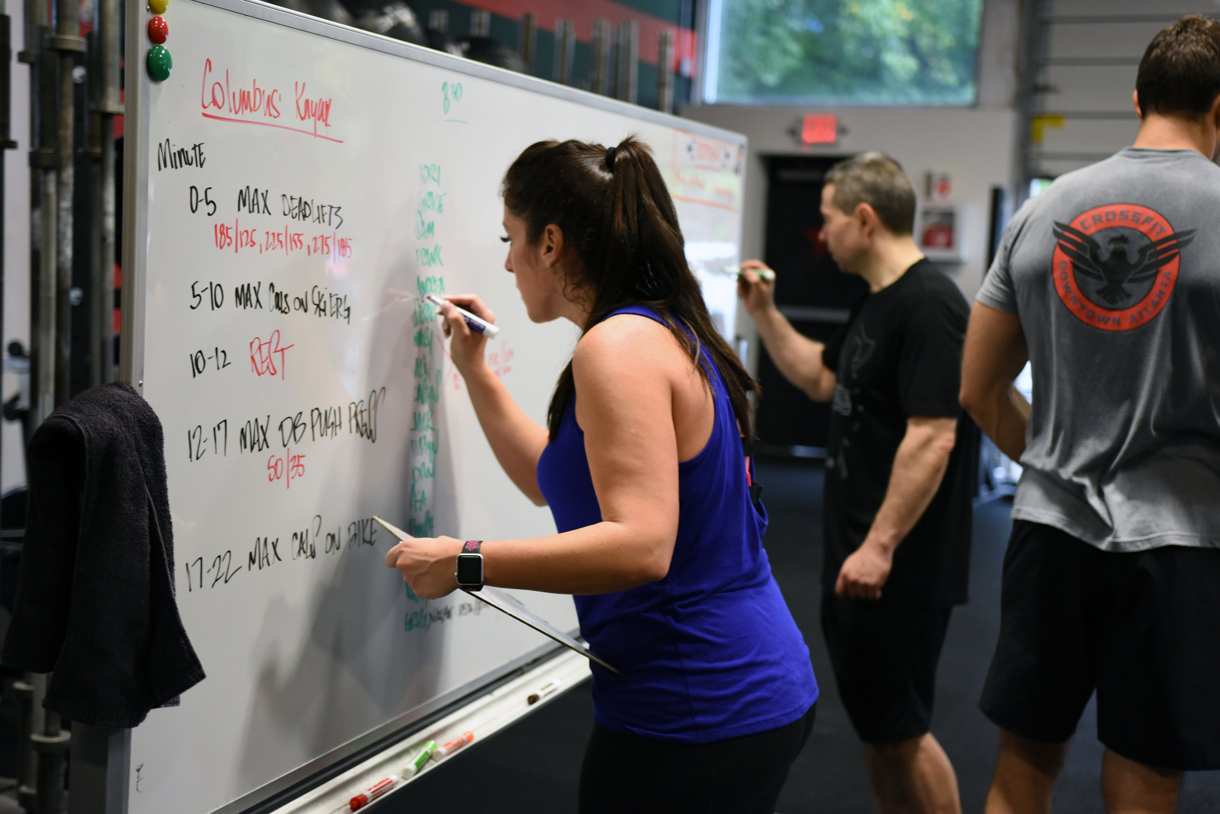 Do you keep a logbook? Keeping track of our workouts allows us to assess our current fitness level and decide on how we need to approach future workouts to keep improving on our weaknesses. If you've never kept a logbook before, now is the time to start!