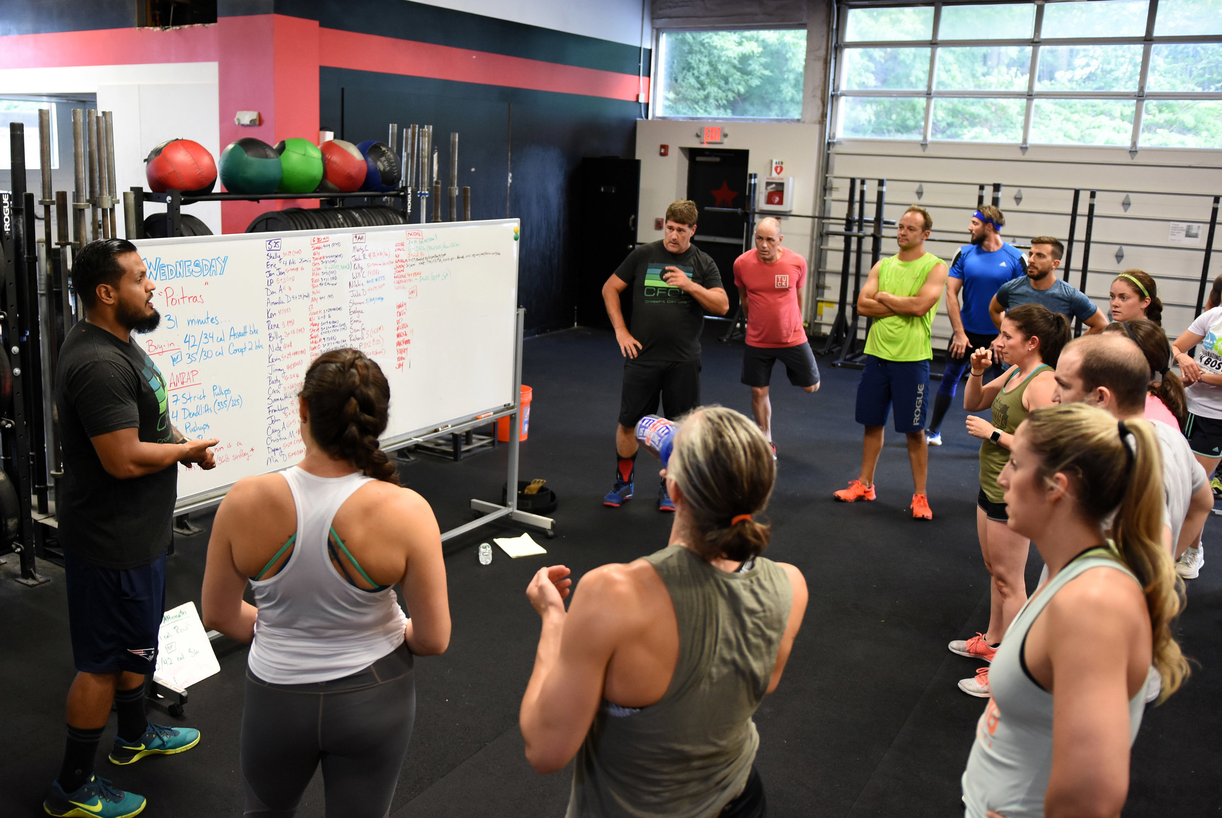Have Crossfit Experience -