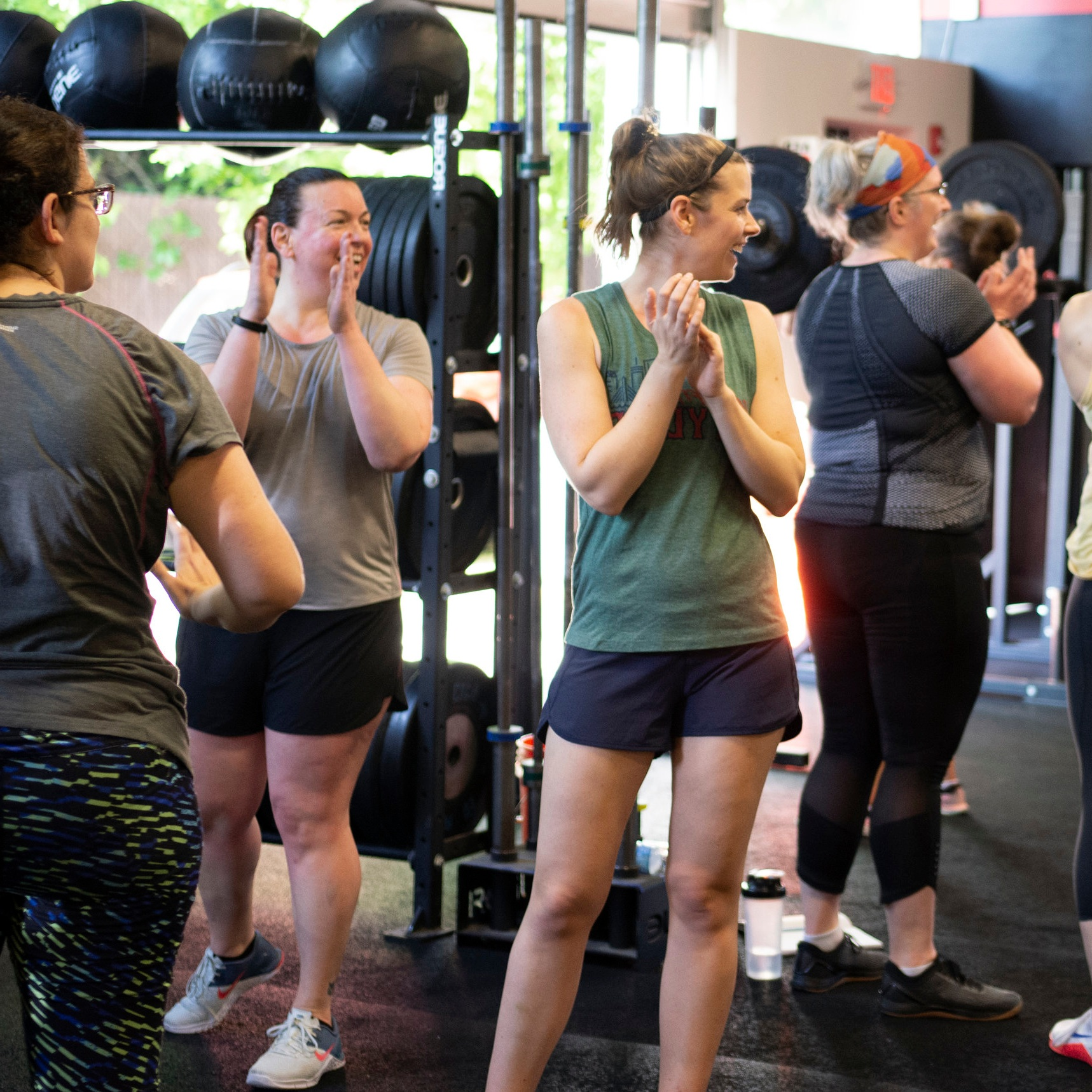 Group classes led by our awesome instructors (and scaled to your exact fitness level). - Whether you're brand new or a long-time athlete, you'll get fitter, faster, and leaner using CrossFit — and we'll guide you every step of the way.