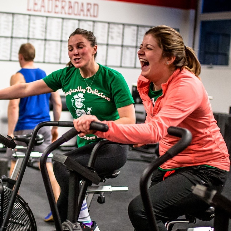 Why come to CrossFit City Line? - Here at the gym, we believe in two things — training intelligently with your friends and having a blast while you do it.We'll get you moving safely, effectively, and efficiently (and show you just how fun training alongside other motivated, friendly people can be).