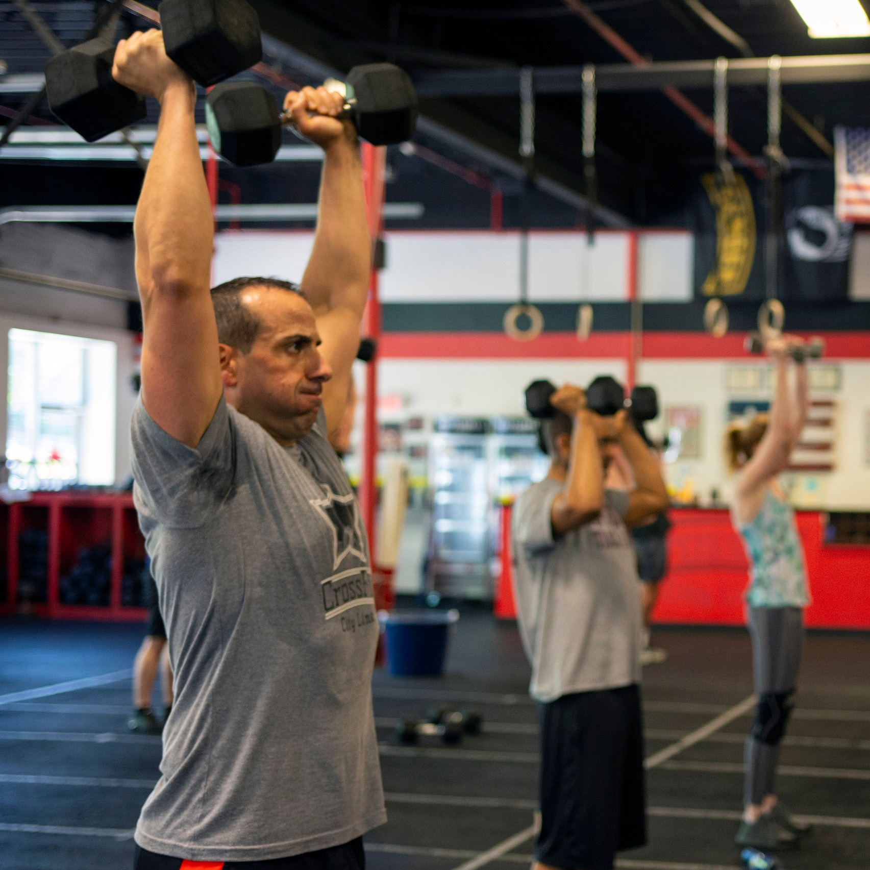 """What if I'm more of the """"personal training"""" type? - If you're looking to train one-on-one with an experienced coach, we've got you covered. We'll create a program just for you, customized to your schedule and your goals (and if you're not sure exactly what those are, don't worry. We'll help you figure it out.)Our team specializes in body composition change, fat loss, and increased physical and mental performance — backed by decades of making it happen for ourselves and others."""