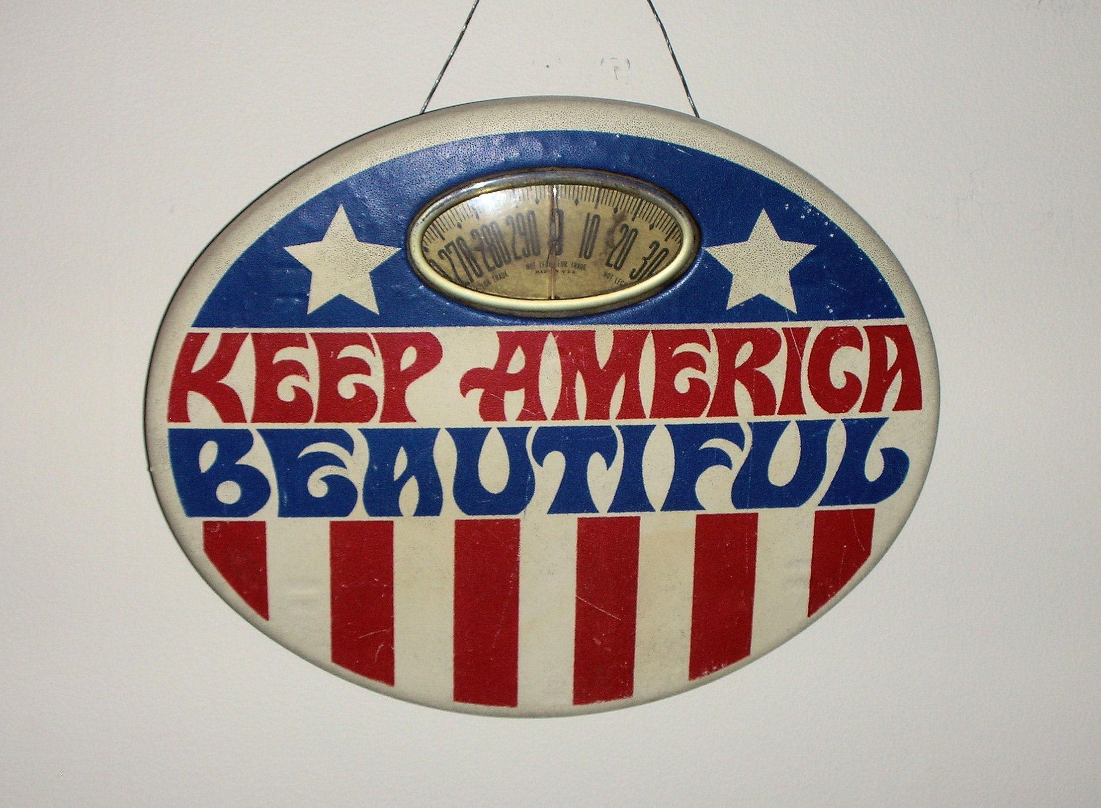 Keep America Beautiful Scale.JPG