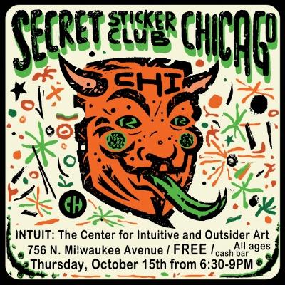 Image courtesy of Secret Sticker Club Chicago.