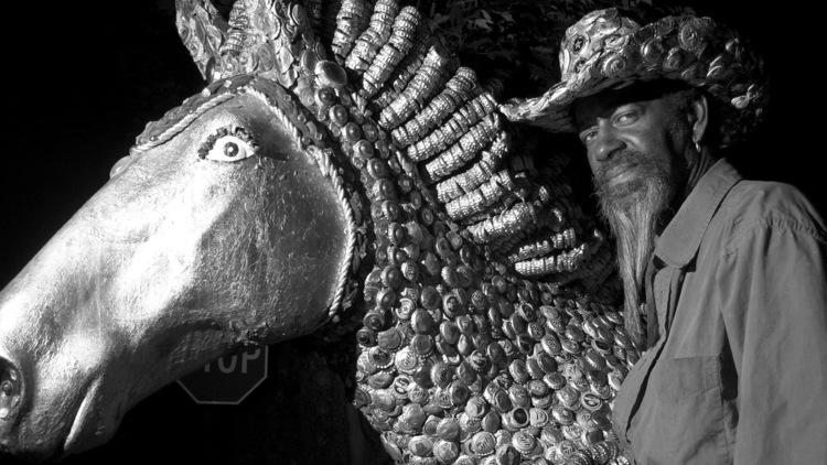 Mr. Imagination with bottle cap horse