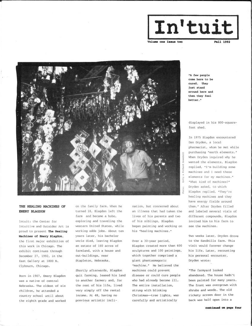 Volume 1 Issue 2 1992