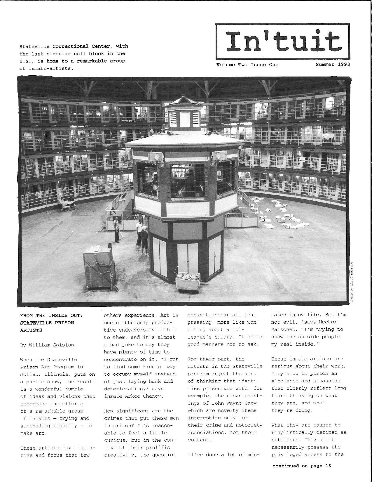 Volume 2 Issue 1 1993