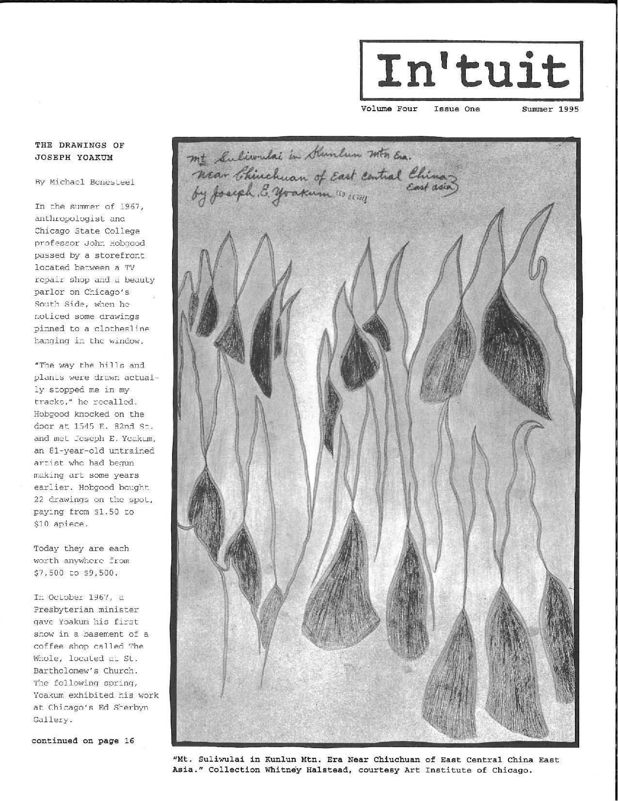 Volume 4 Issue 1 1995