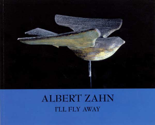 Zahn catalog cover with carved bird