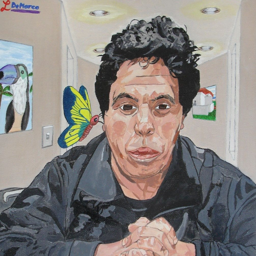 Portrait by Louis Demarco