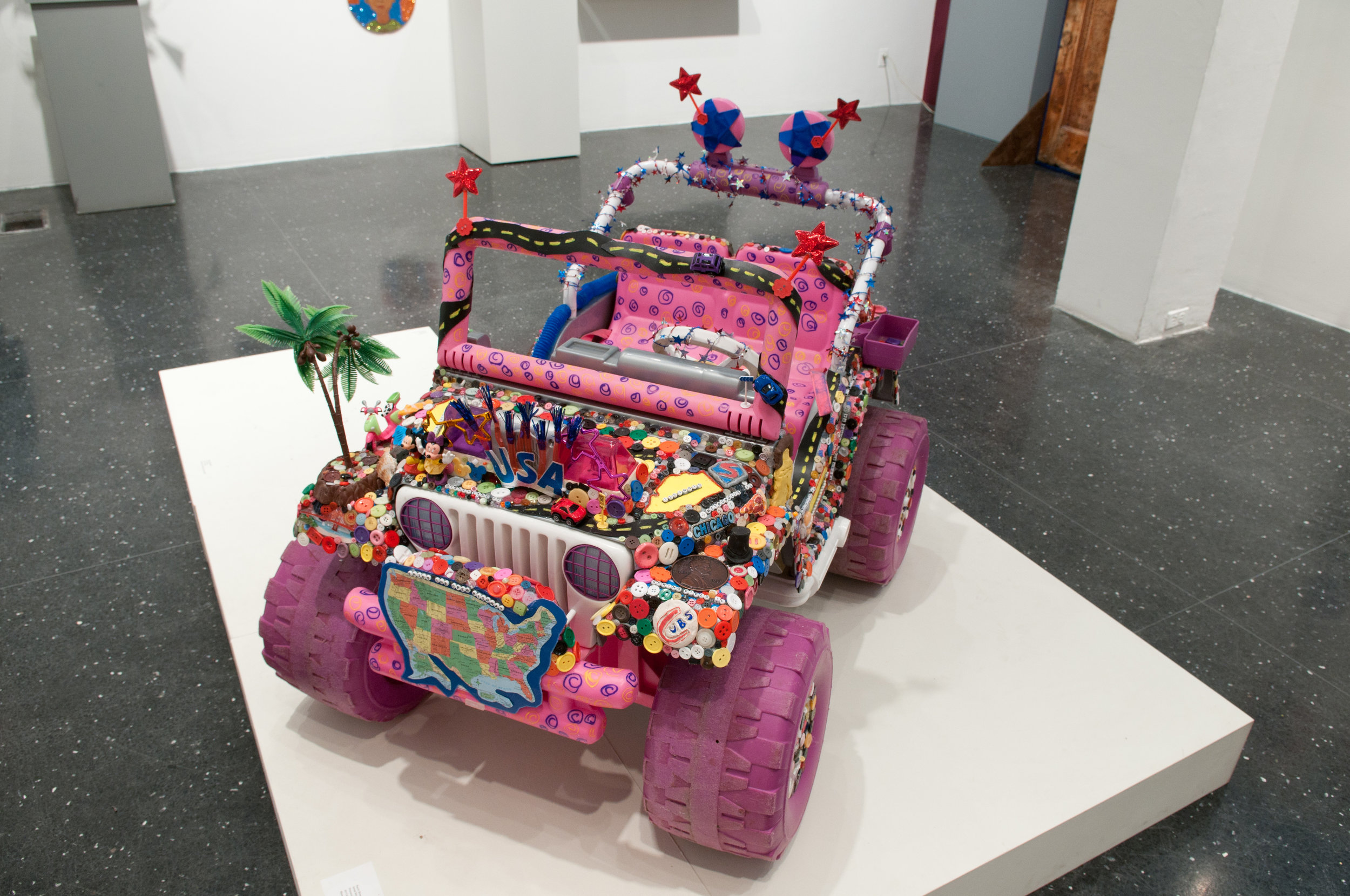 Assemblage Vehicles inspired by the Art Cars
