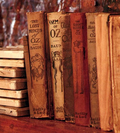 The  Wizard of Oz  books were among Darger's possesions.