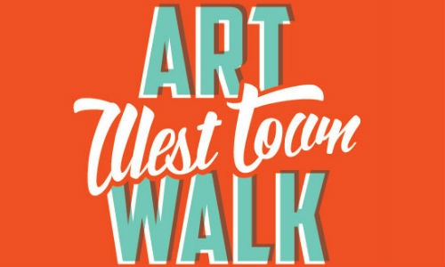 This event is part of the West Town Art Walk, a free event that features art in all forms in storefronts along Chicago Ave.