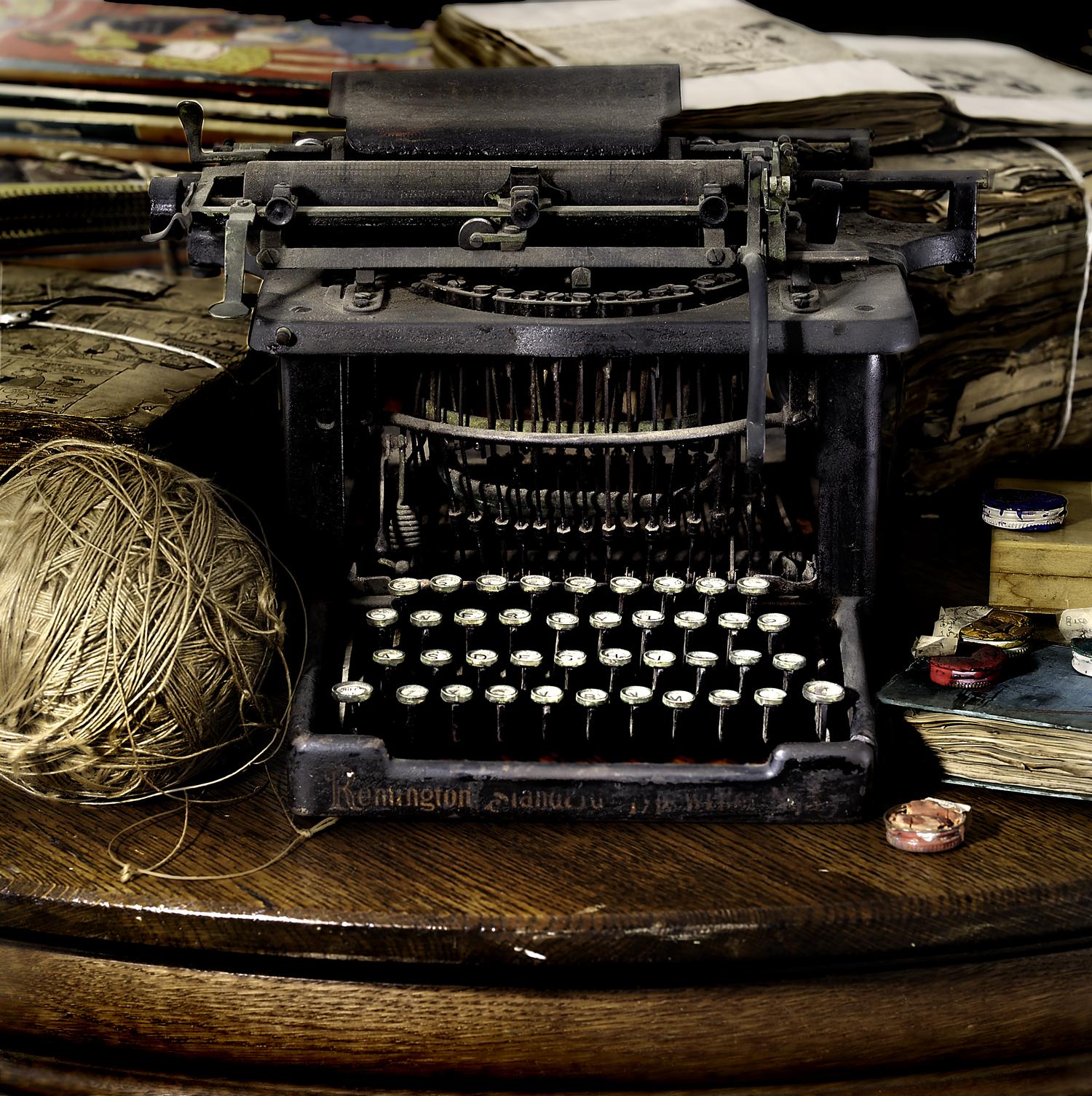 Darger's typewritter