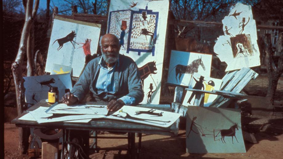 Bill Traylor outsider artist