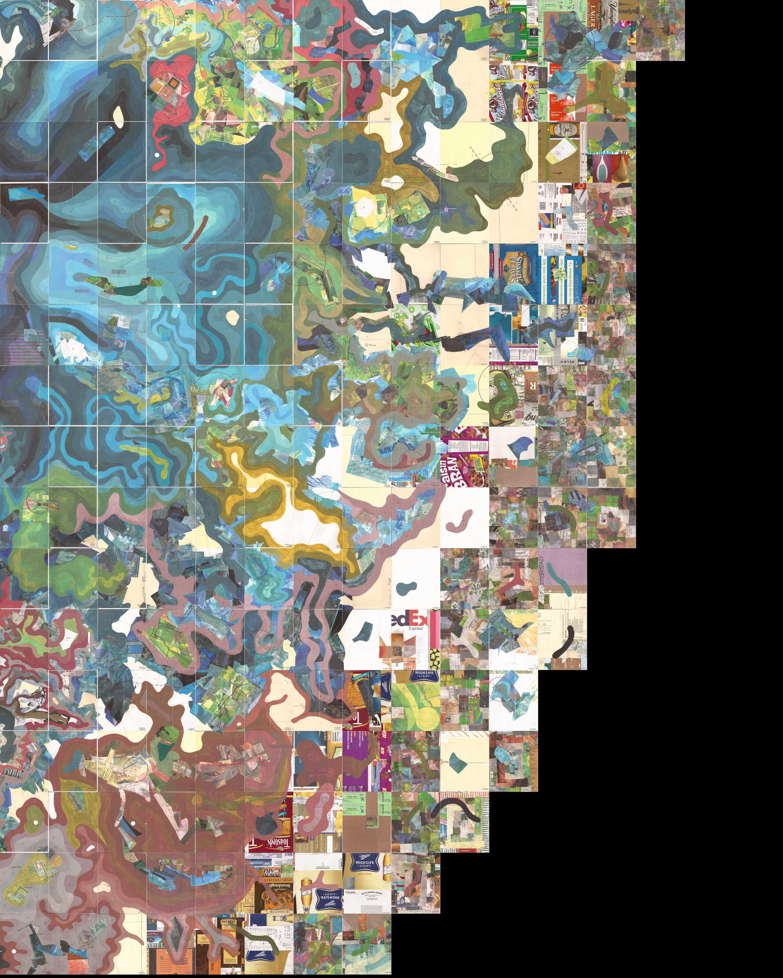 Otherworldly, monumental map takes over Intuit's museum walls--7/22/19