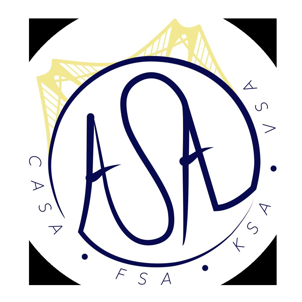 ASA Circle Logo Sticker - $2 - 3 in.diameter