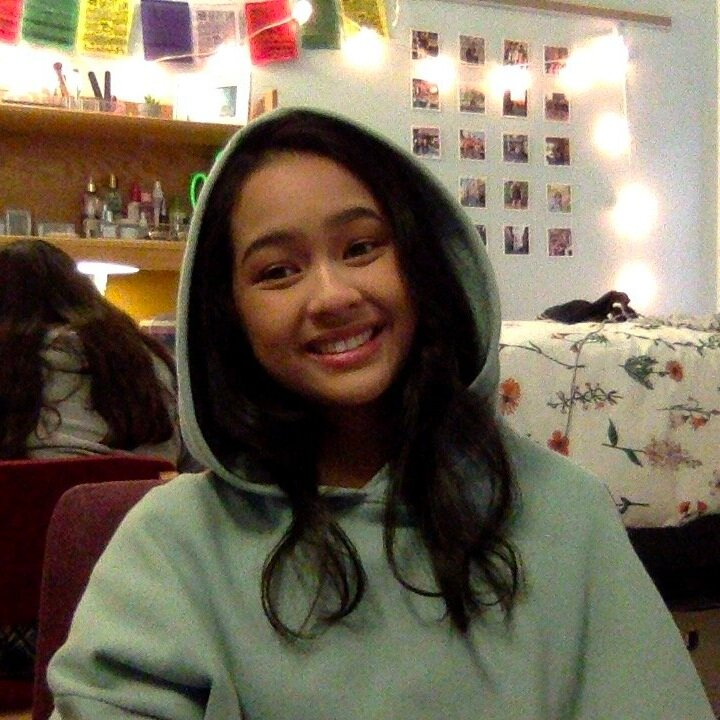 """Caitlin Alano    Pronouns:  She/Her/Hers   Academic Year:  Freshman   Major:  Statistics   Hometown:  Around Philly, PA   Cultural Identity:  Filipino-American  """"I mainly love singing (karaoke wHoOO), ukulele, dancing, watching superhero and romcom movies/kdramas/filipino teleseryes, and calligraphy art. i could eat avocado toast and drink bubble tea for days. i'm pretty chill and easygoing when you get to know me, but i meme around a lot and can be weird at times (i listen to yung gravy and watch buffcorrell on youtube a lot rip). also, i'm the youngest in my family so i'm used to being dependent on my older sister or pretty much anyone older than me."""""""