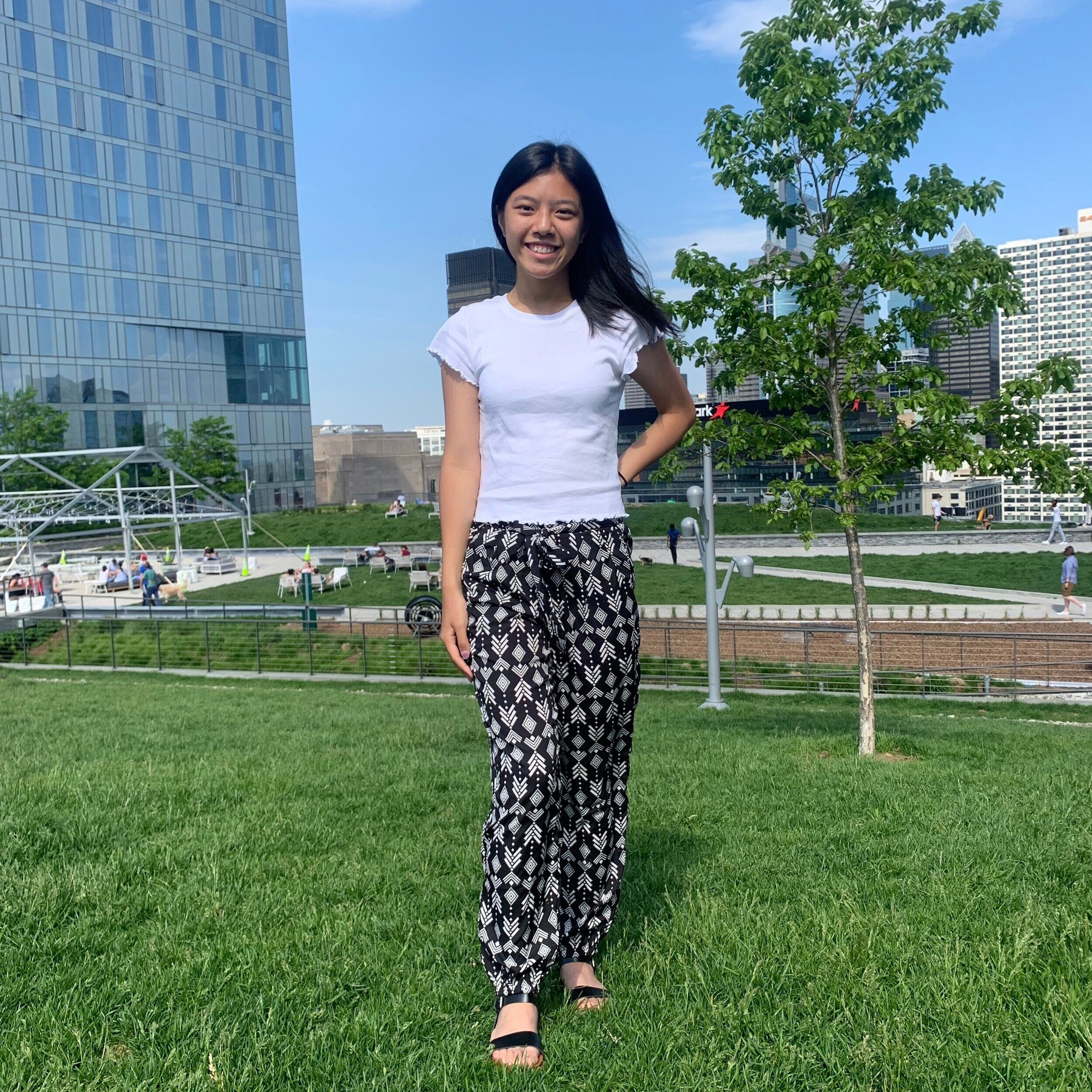 """Chri Ho    Pronouns:  She/Her/Hers   Academic Year:  Freshman   Major:  Actuarial Mathematics   Hometown:  Philadelphia, PA   Cultural Identity:  Chinese American  """"Karate, drawing/painting, student government, math, cryptography"""""""