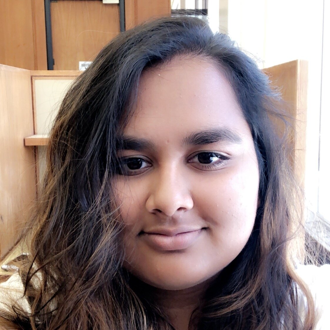 """Geeta M. Gunti    Pronouns:  She/Her/Hers   Academic Year:  Sophomore   Major:  History of Art and Architecture and Athropology   Hometown:  Phoenixville, PA (near Philly)   Cultural Identity:  Indian  """"I love art and movies and tv shows. I love organizing things and basically I'm a huge nerd."""""""