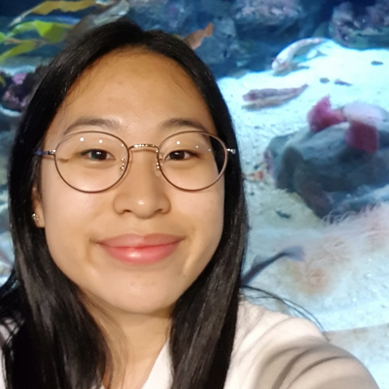 """Grace Kim    Pronouns:  She/Her/Hers   Academic Year:  Freshman   Major:  Biochemistry   Hometown:  New Jersey   Cultural Identity:  Korean American  """"My name is Grace Kim, but some call me Grass (김잔디 - brownie points if you got the reference to Boys over Flowers) because I like plants and have a garden back at home. Music is an integral part of my life - I've played the flute for years and am trying to pick up the piano. I'm an INFJ taurus in the year of the snake and my patronus is the king cobra. I like to spend time with my pals by watching k-dramas, movies, playing pokemon go, grabbing food, or cooking - I love a l l kinds of food."""""""