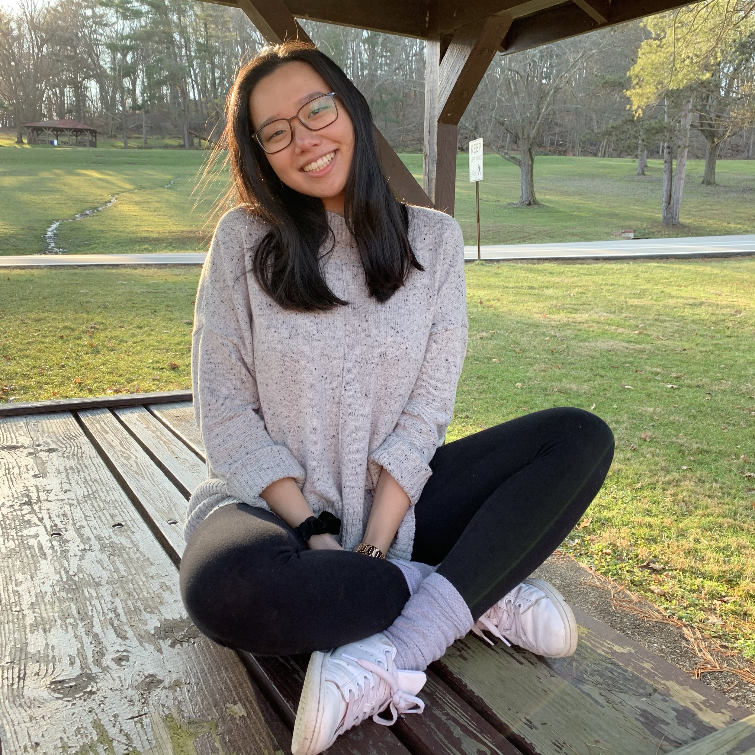 """Gina Wang    Pronouns:  She/Her/Hers   Academic Year:  Freshman   Major:  Computational Biology on the Pre-Med Track   Hometown:  Pittsburgh, PA   Cultural Identity:  Chinese American  """"I really like arts and crafty things! I focus mostly on sewing and embroidery, but I love to paint too. I also enjoy dancing! I'm almost always a cheerful person and get excited very easily, although I'm usually shy at first, but once I get to know people I'm much more outgoing."""""""