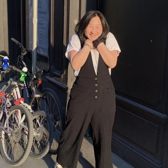 """Julia    Pronouns:  She/Her/Hers   Academic Year:  Freshman   Major:  Undecided   Hometown:  Allentown, PA   Cultural Identity:  Korean American  """"i like listening to music and watching movies and i like joking around"""""""