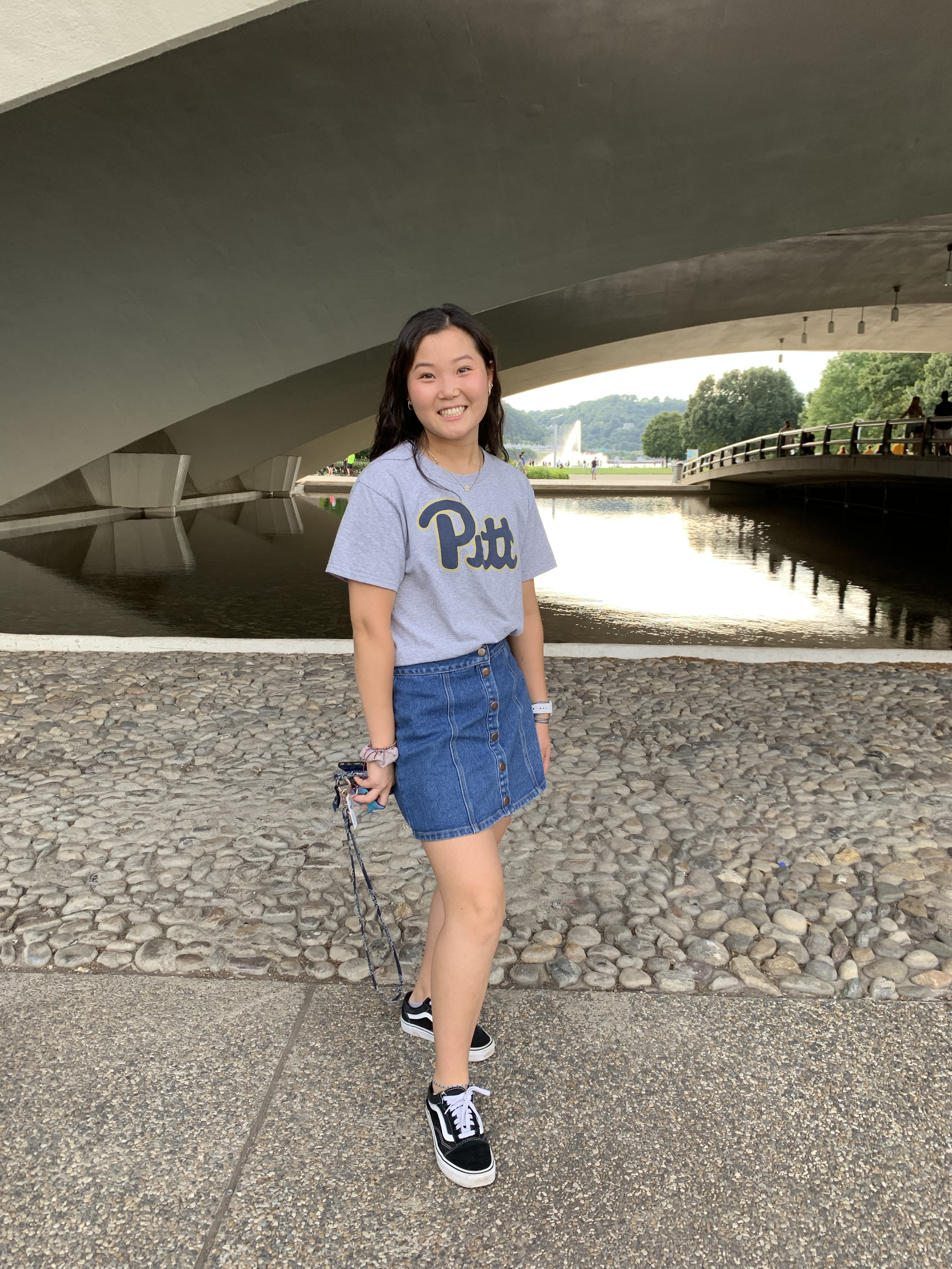 """Rachel Kim    Pronouns:  She/Her/Hers   Academic Year:  Freshman   Major:  Pre-Pharmacy   Hometown:  West Chester, PA   Cultural Identity:  Korean American  """"I love to explore different places and eat. My hobbies are to watch movies and play squash. I'm a INFJ, but I can be really outgoing once you get to know me. I am caring and a big listener."""""""