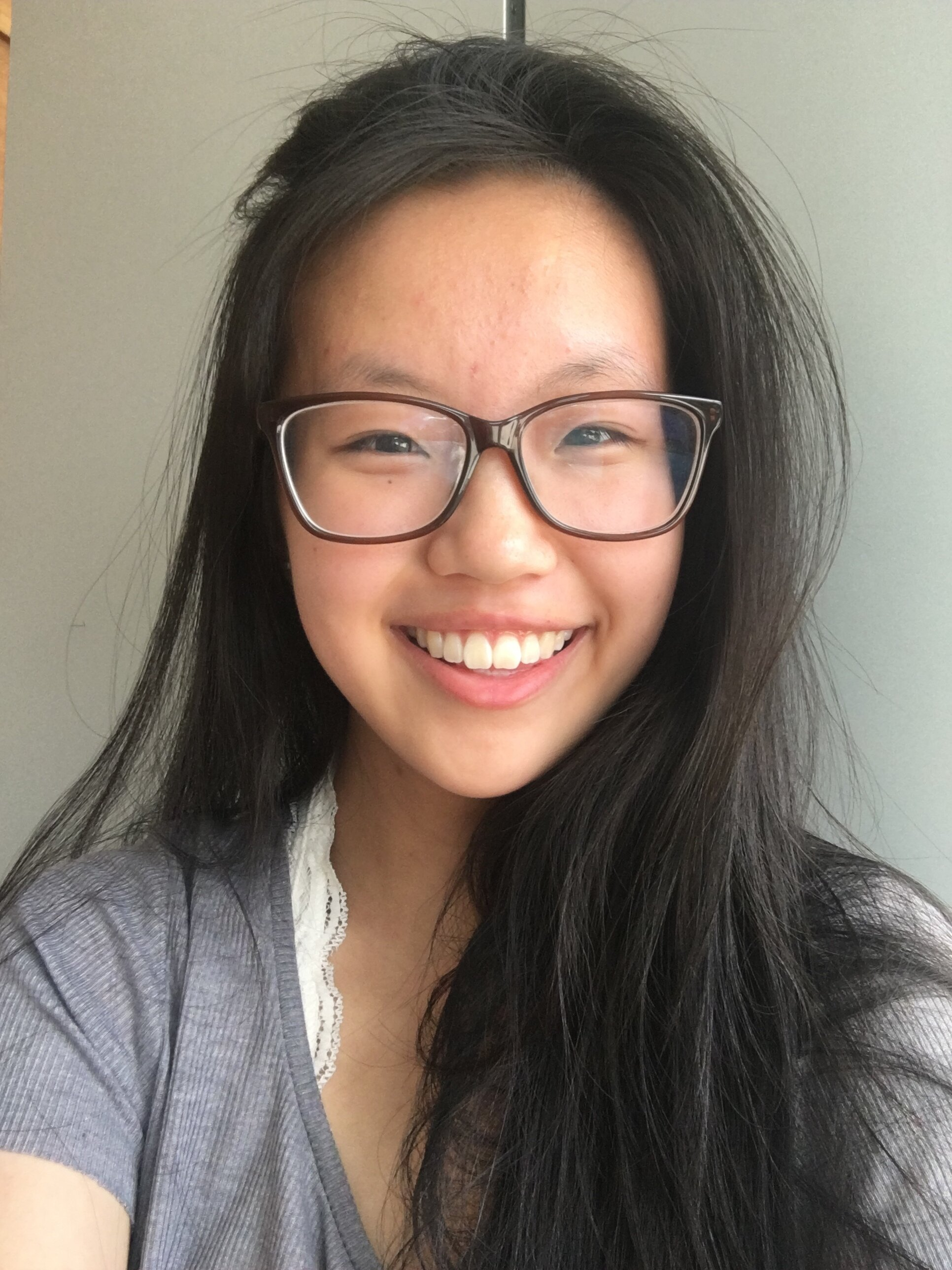 """Rebekah Cheng    Pronouns:  She/Her/Hers   Academic Year:  Freshman   Major:  Nursing   Hometown:  Bucks County, PA   Cultural Identity:  Chinese-American  """"I like to play violin and guitar, and I think I am an equally an introvert and extrovert. I grew up in a very homogeneous town with little diversity (especially Asian representation!) and I am super excited to join a community of Asians on campus"""""""
