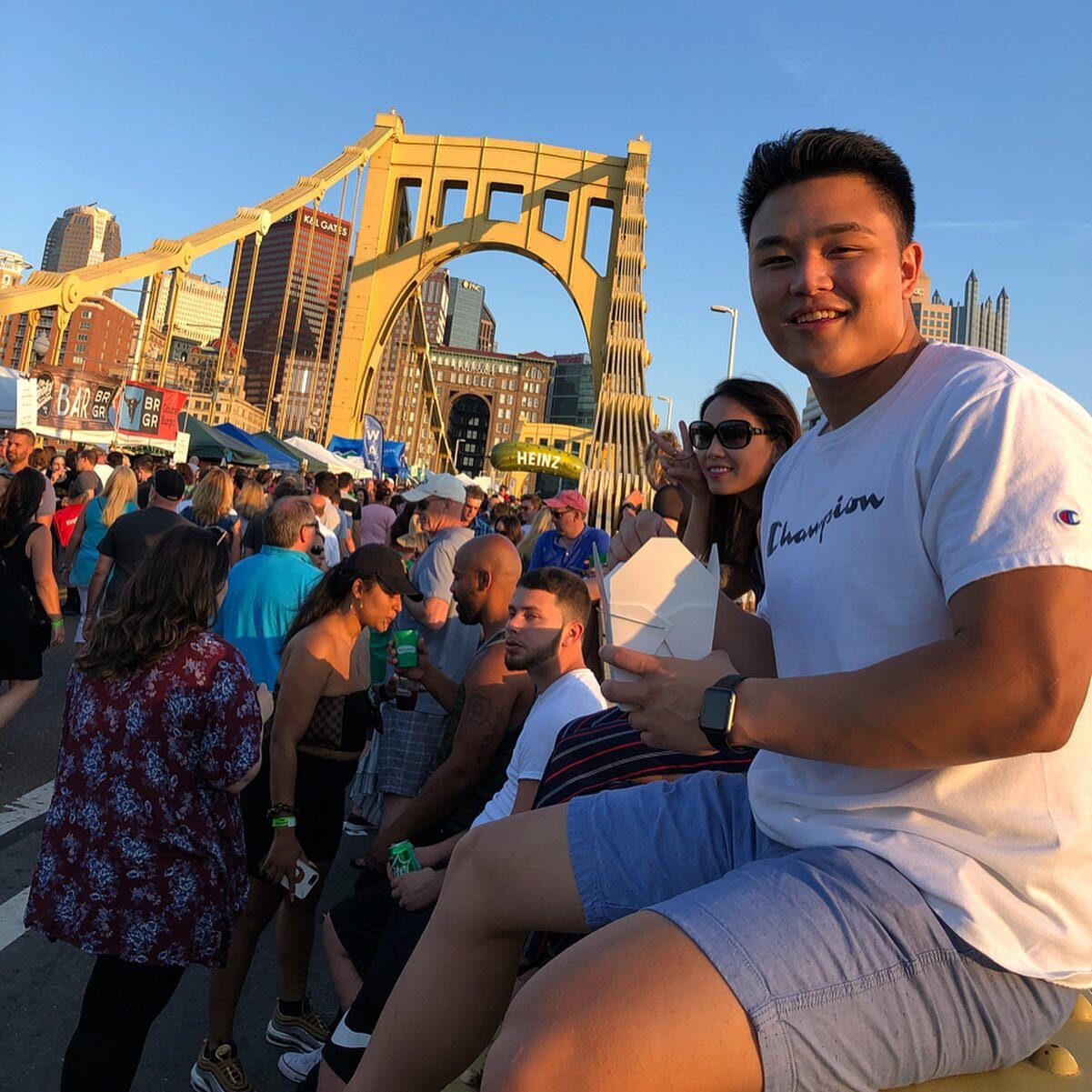 """Peter    Pronouns:  He/His/Him   Academic Year:  Junior   Major:  Architecture and Engineering   Hometown:  Pittsburgh, PA   Cultural Identity:  Filipino/ Korean  """"I like making new friends, going out to hang, working out and just chillin"""""""