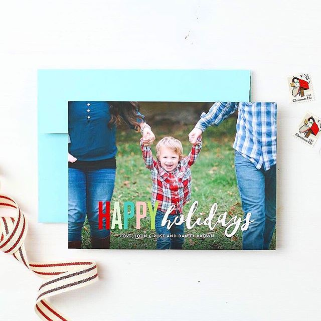 christmas in july? why not! i love the holiday season, and it's never too early to start planning! on the blog today, i'm talking about @basicinvite and how great their colorful selection of cards and invitations is. i've got a promo code over there for you as well, so click the link in my bio and get yourself some pretty printed goods! #ad