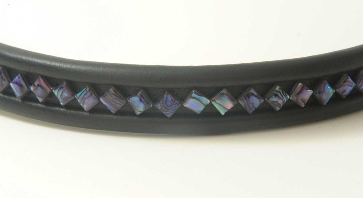 Diamond-Shaped Purple Abalone