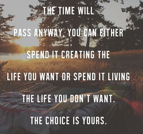 Don't waster your life - take action