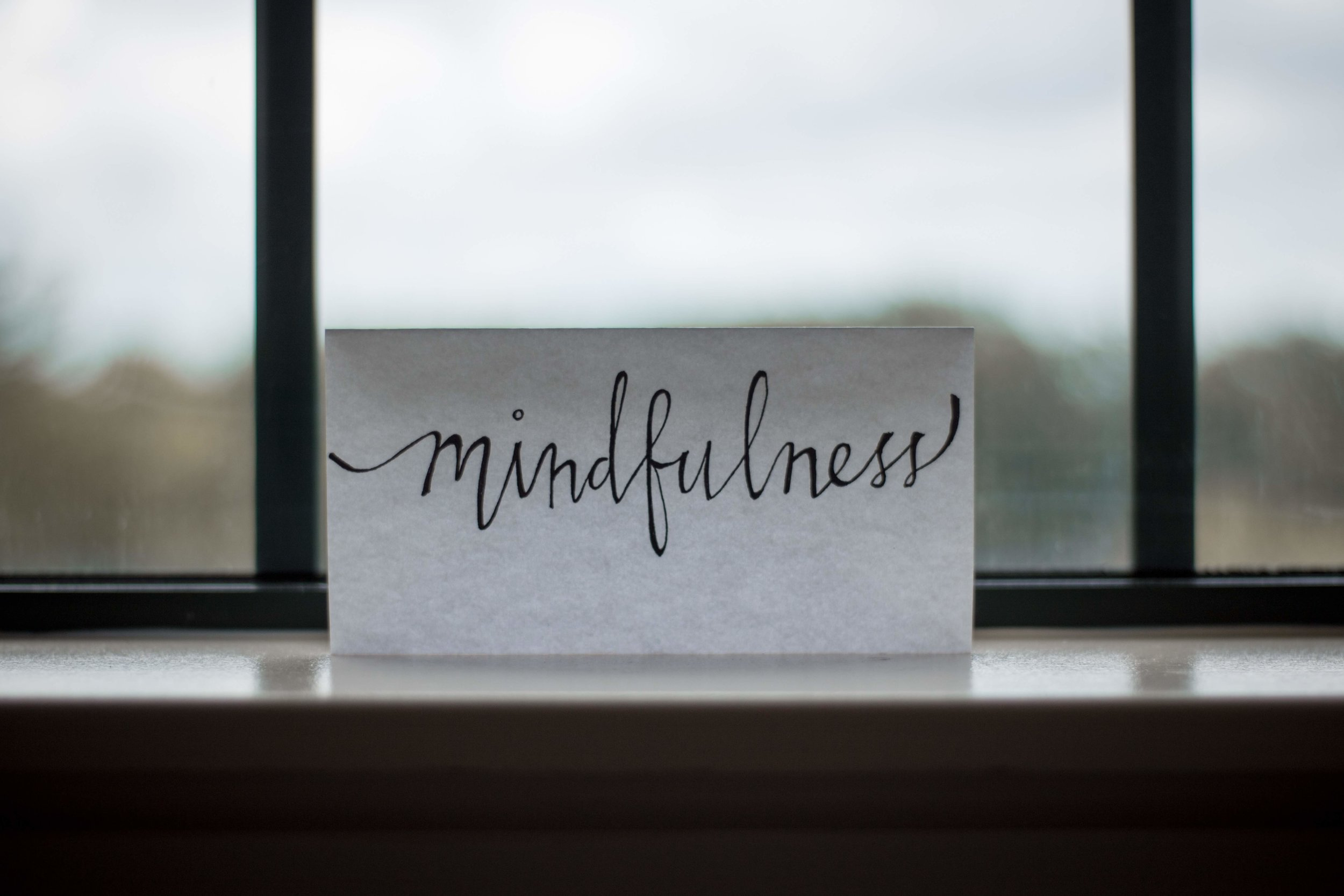 Mindfulness brings clarity, insight, acceptance and harmony. - Less stress - More joy.