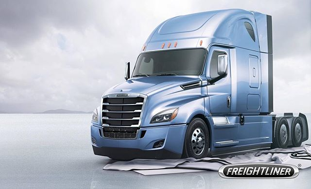 FlowBelow evolves with @freightlinertrucks to bring new innovation.  The #newcascadia has arrived.