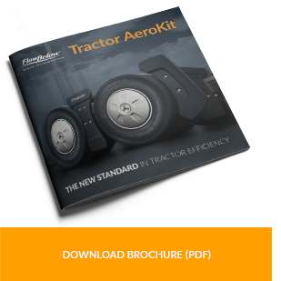 Tractor AeroKit Brochure  Our 12 page product brochure highlights the components and benefits of the Tractor AeroKit and includes key features and data codes.