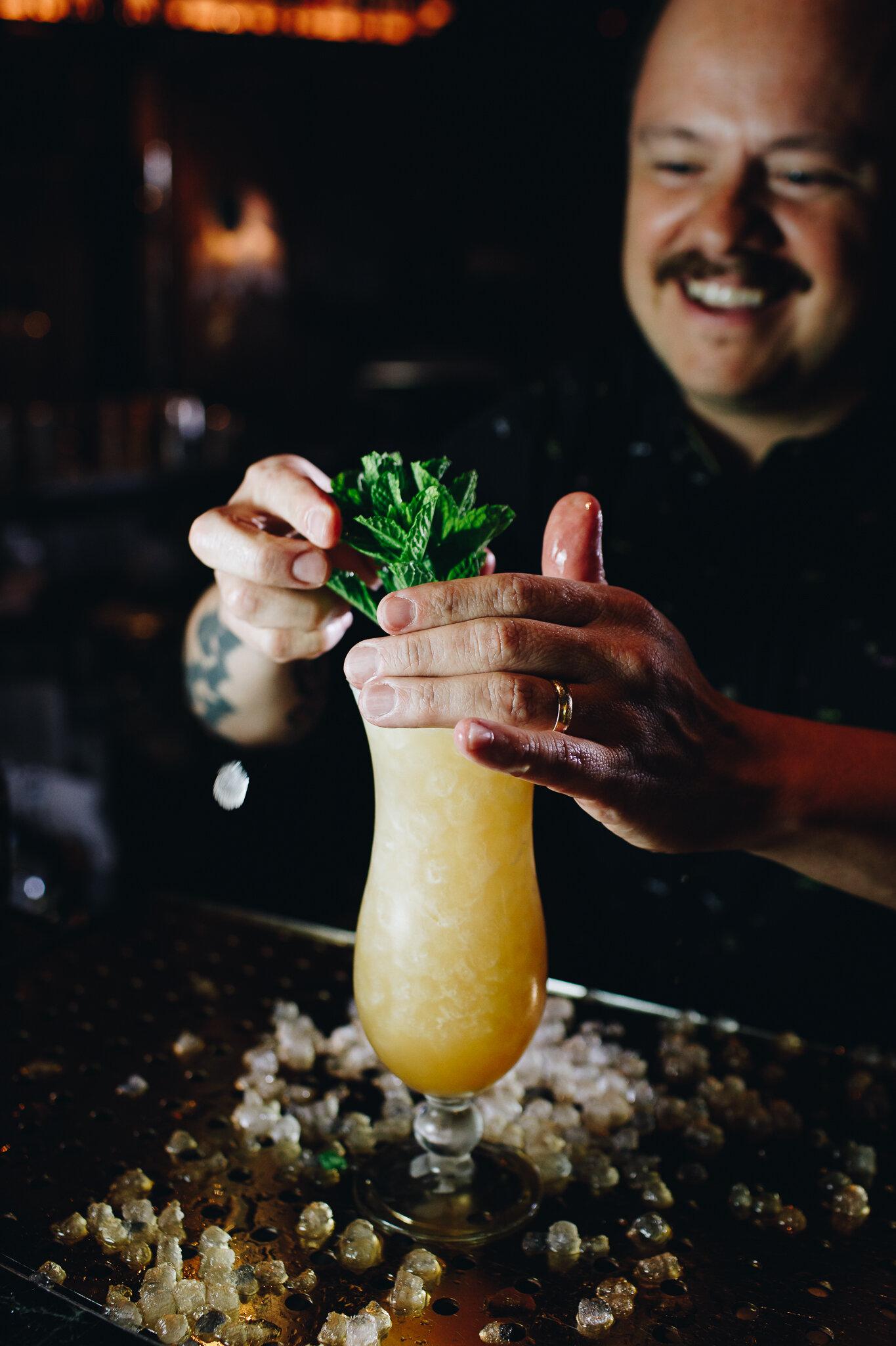 Bourbon Tiki Drinks The Iron Ranger The Bartender S Podcast