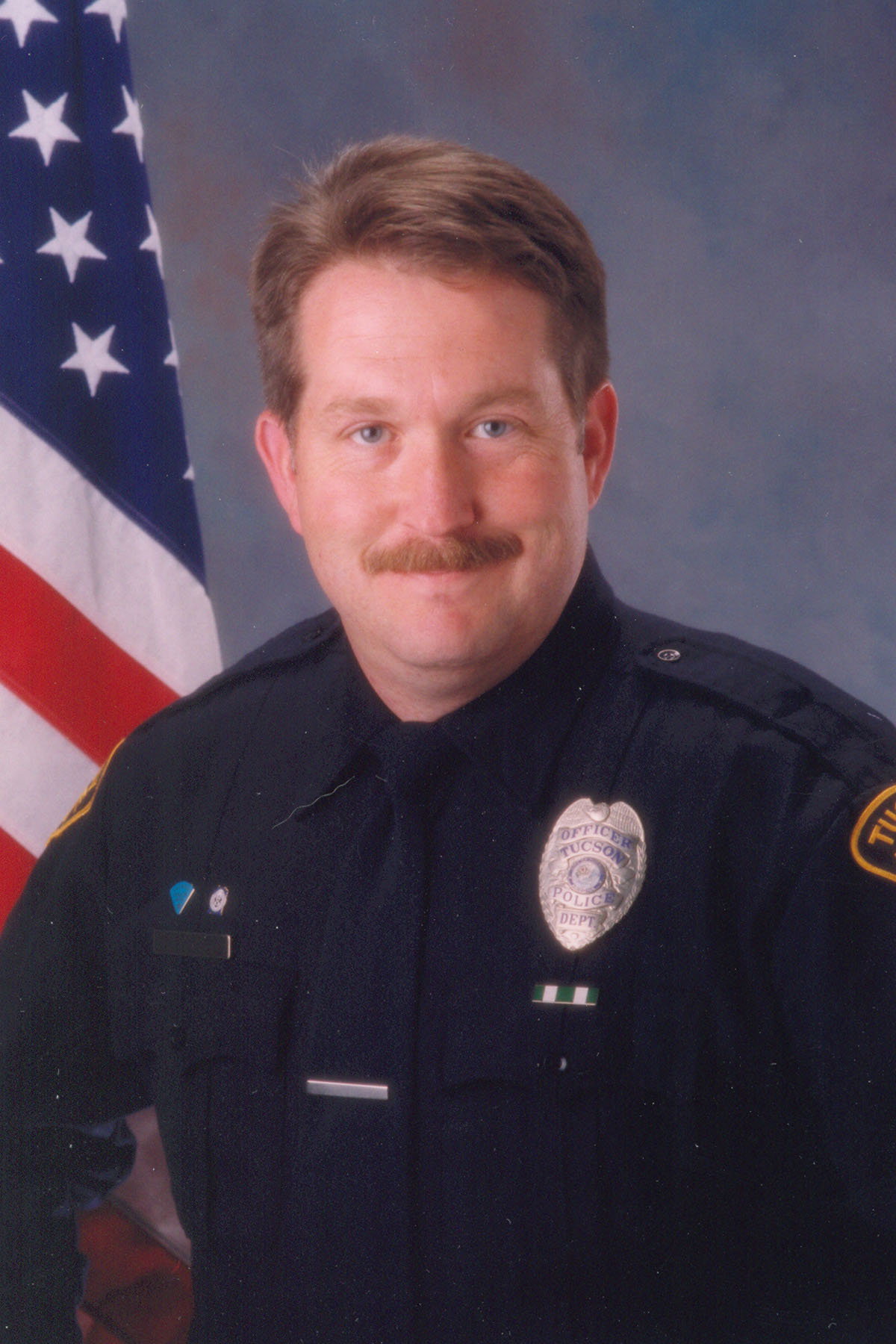 OfficerPatrick kent HardestyTucson Police DepartmentEnd of Watch:Monday, May 26, 2003 - Officer Patrick Hardesty was shot and killed while investigating a hit-and-run traffic accident at the intersection of Fort Lowell Road and Park Avenue.Shortly after arriving at the scene, Officer Hardesty located a suspect and a struggle ensued in which Officer Hardesty was shot five times and fatally wounded. Officer Hardesty was taken by ambulance to an area hospital where he was pronounced dead. Responding officers apprehended the suspect after a short foot pursuit. The suspect was found guilty of first-degree murder on February 25th, 2005, and was sentenced to death on March 10th, 2005.Officer Hardesty was a U.S. Marine Corps veteran. He had been with the Tucson Police Department as a reserve officer for 11 years, and as a full-time officer for 19 months. He is survived by his wife, three children, parents, two sisters, and a brother.
