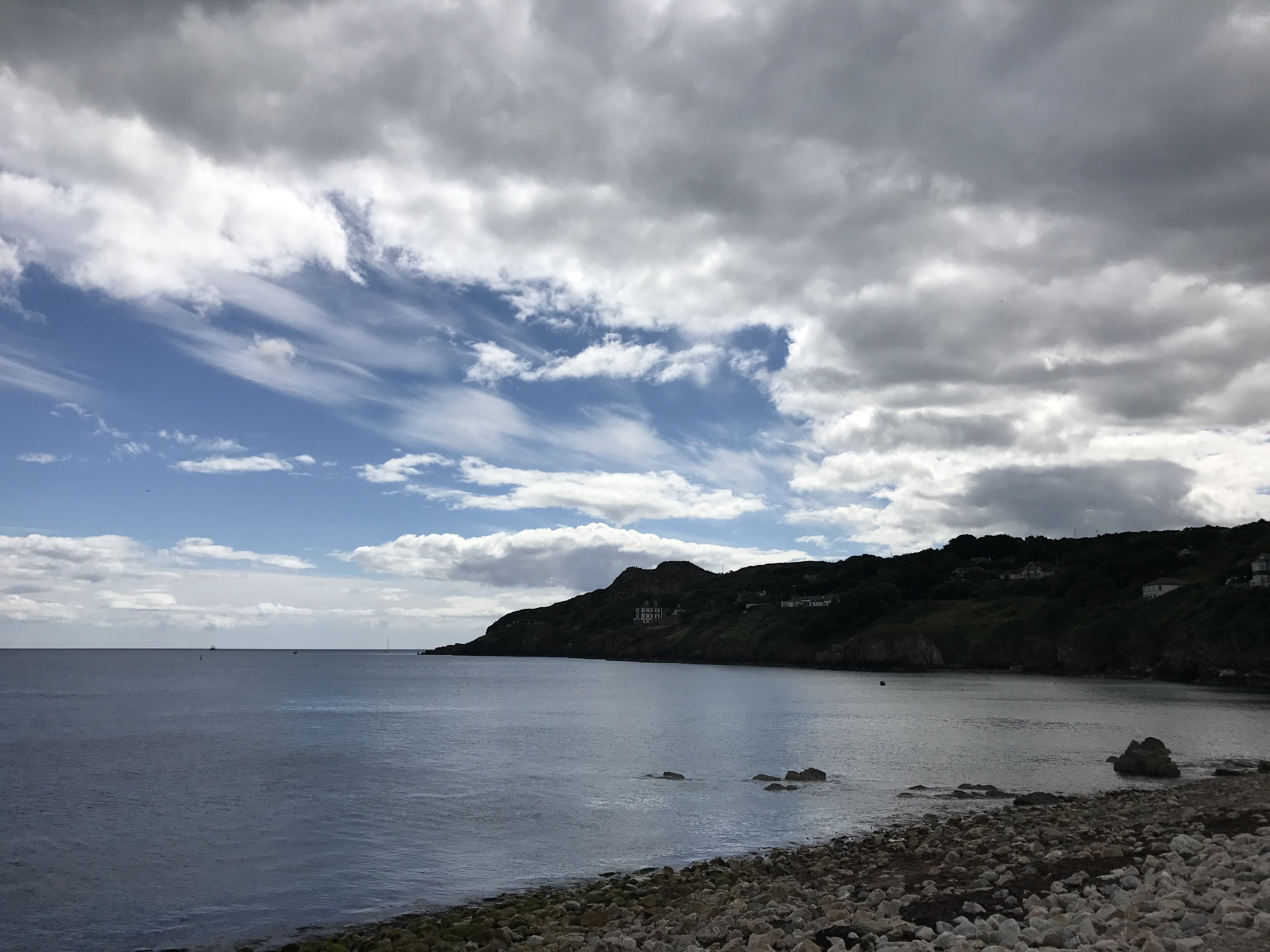 One of my adventures this year took me to the beautiful village of Howth in Ireland.
