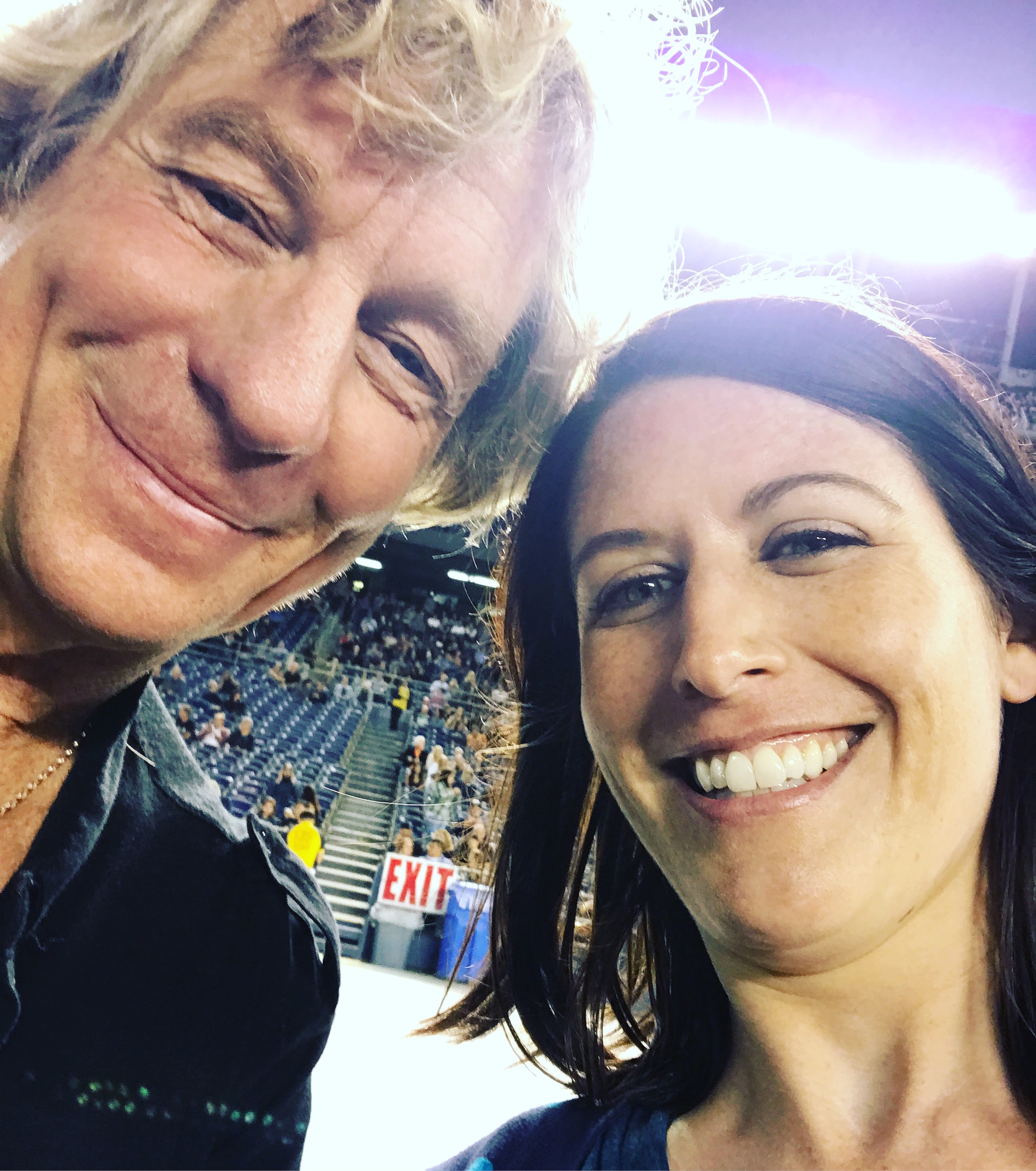 With Dallas Schoo (he insisted we take a selfie) September 22, 2017 in San Diego, CA.